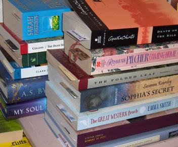 Nightstand-books