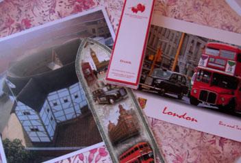 London-postcards