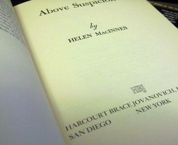 Above-suspicion