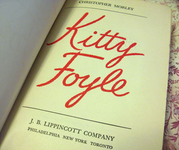 Kitty-foyle