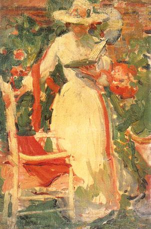 Reading-woman-in-garden-1