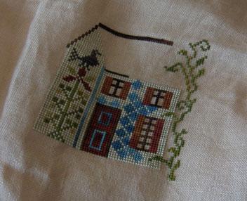Marshmallow-house