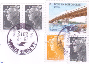 French-stamps