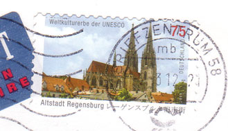 Unesco-german-stamp