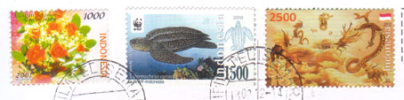 Indonesia-stamps