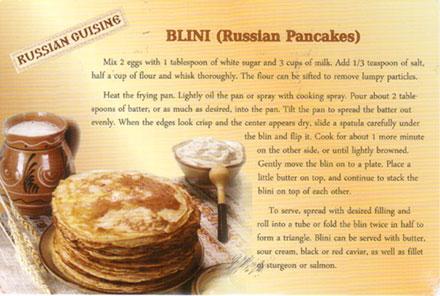 Blini-recipe