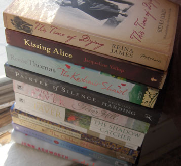 New-books-march