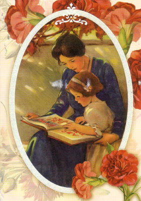 Mother-daughter-reading