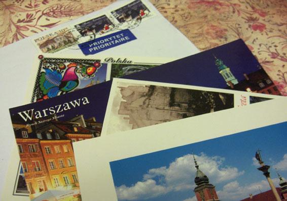 Polish-postcards