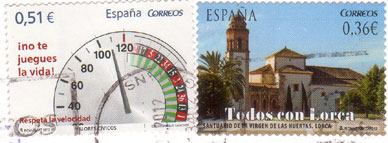 Spain-stamps