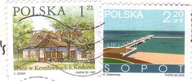 Polska-stamps