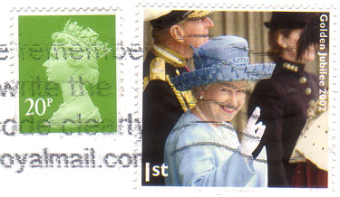 Queen-jubilee-stamp
