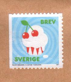 Cupcake-stamp