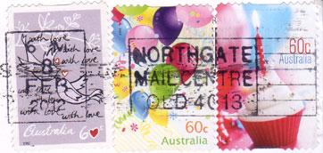 Aussie-stamps