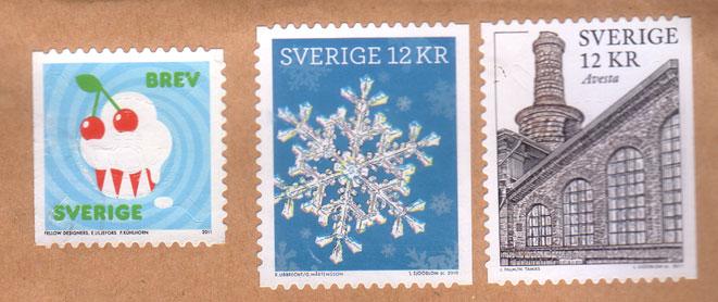 Swedish-stamps