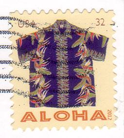 Aloha-stamp
