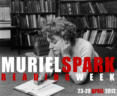 Muriel Spark badge