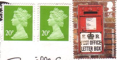 Mailbox-stamp