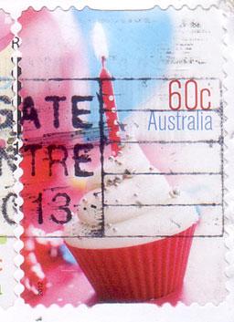 Aussie-cupcake