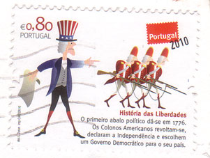 Portugal-stamp