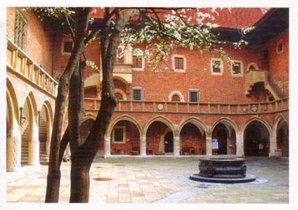 Polish-courtyard