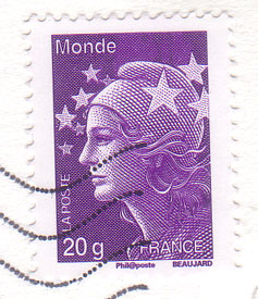 French-stamp-20g