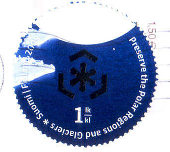 Finnish-stamp-polar-regions