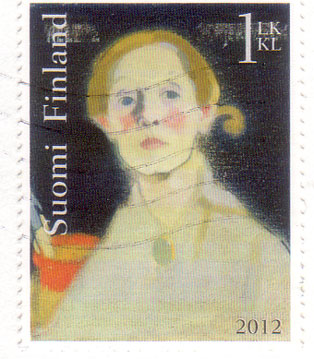 Suomi-stamp