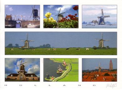 Dutch-windmills