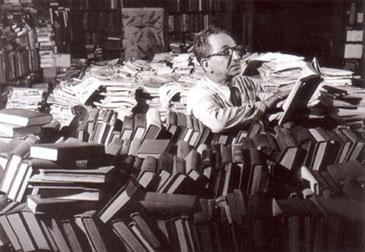 Man-in-book-stacks