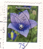 German-flower-stamp