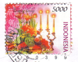Indonesian-stamp