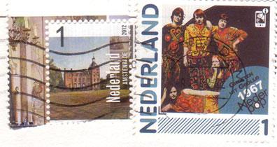 Nederland-stamps