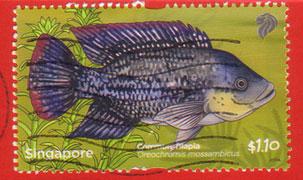 Singapore-stamp
