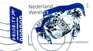 Dutch-penguin-stamp
