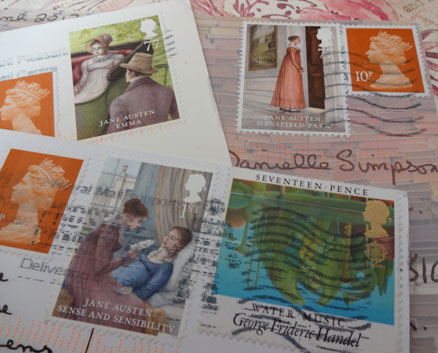 Austen-stamps