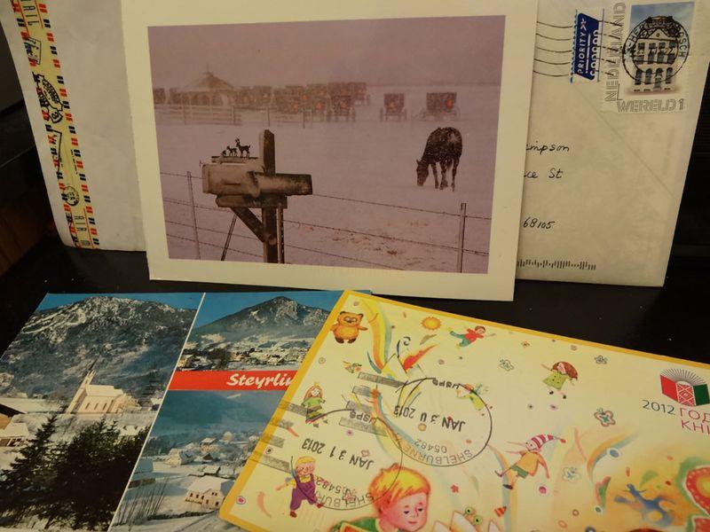 Incoming-postcards