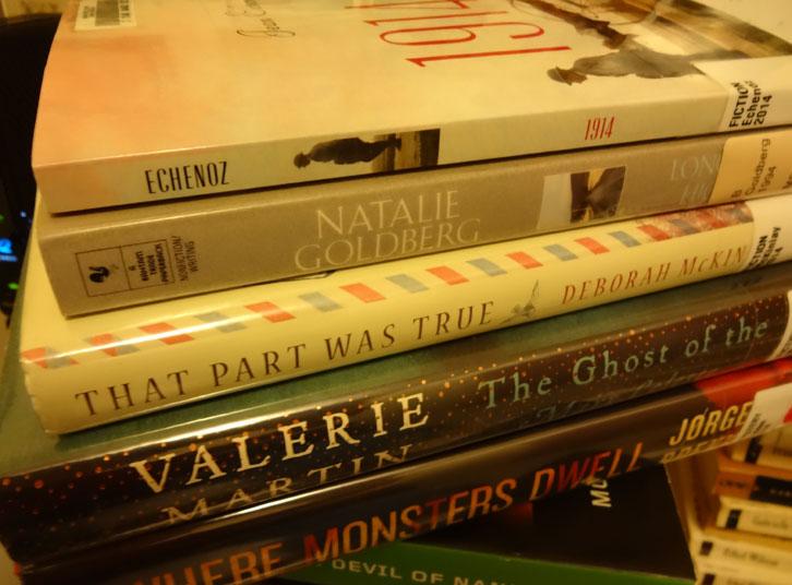 March-lib-books