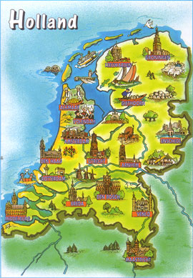 Holland-Map