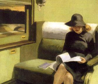 Reading-Woman-Train