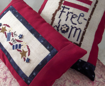 Freedom Cross Stitch