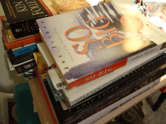 November-reading-pile