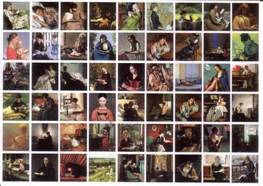 Reading-women-montage