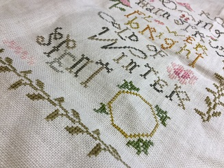 Can You See The Progress I Am Enjoying Working On This Again Even If It Is Only Twenty Minutes Or So A Day As Sampler With Part Of