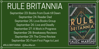 Rule Britannia Blog Tour Banner
