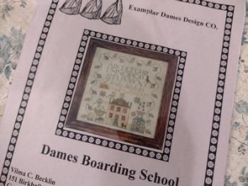 Examplar Dames Design CO. Dames Boarding School Counted Cross image 0