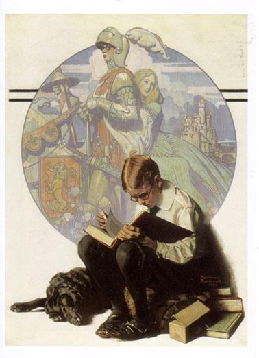 Boy-reading